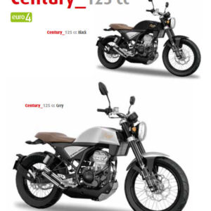 Rieju Century 125 - Both Colours