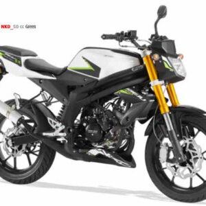 Rieju RS3 50 Naked NKD - Green 2018