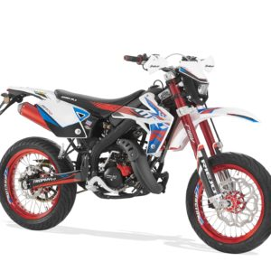 Rieju MRT 50 Trophy SM - White Red Blue